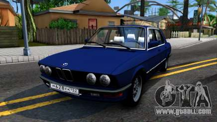 BMW 535is for GTA San Andreas