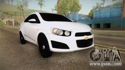 Chevrolet Sonic Beta for GTA San Andreas