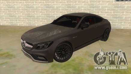 Mercedes-Benz C63S AMG Coupe 2017 for GTA San Andreas