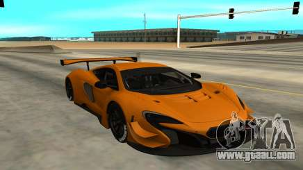 McLaren 650S GT3 for GTA San Andreas