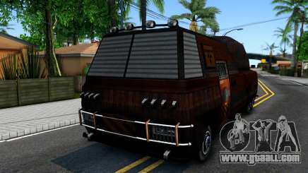 Bus of Future for GTA San Andreas