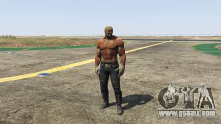 Drax Guardians of the Galaxy for GTA 5