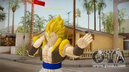 DBX2 - Gogeta SSJ for GTA San Andreas