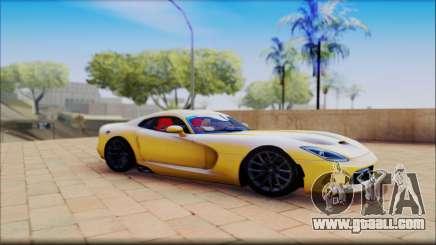Dodge Viper yellow for GTA San Andreas