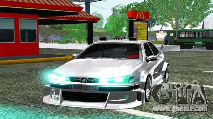 PEUGEOT 406 SL TAXI 2 for GTA San Andreas