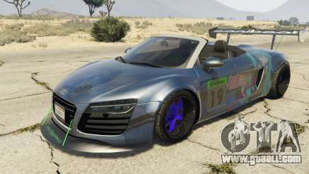 Audi Spyder V10 for GTA 5