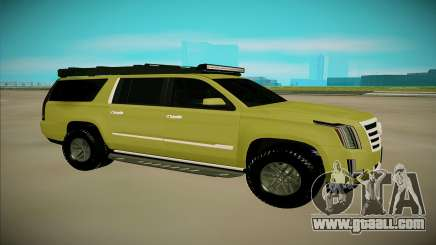 Cadillac Escalade ESV for GTA San Andreas