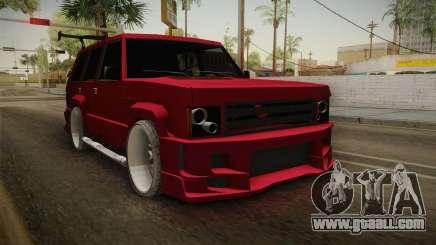 Lowered Huntley v1.0 for GTA San Andreas