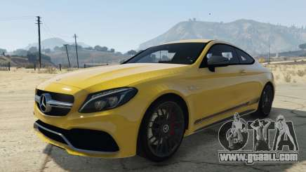 Mercedes C63S AMG Coupe for GTA 5