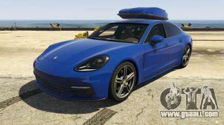Porsche Panamera 2017 for GTA 5