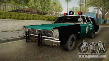 Plymouth Belvedere Station Wagon 1965 NYPD for GTA San Andreas