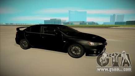 Mitsubishi Lancer X Evo for GTA San Andreas