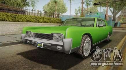 GTA 5 Vapid Chino Continental IVF for GTA San Andreas