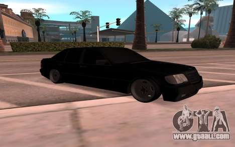Mercedes-Benz 63S Brabus for GTA San Andreas