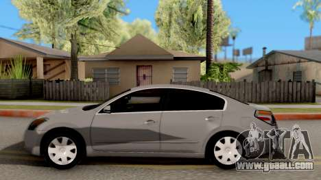 Nissan Altima 2009 for GTA San Andreas left view