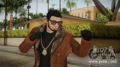 Skin Anuel AA v2 for GTA San Andreas