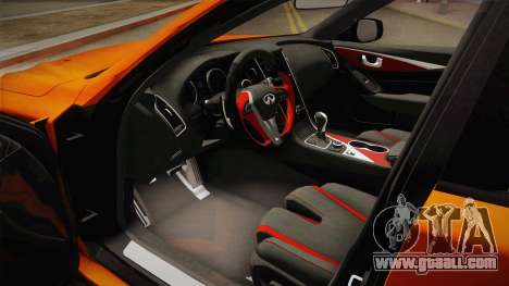 Infiniti Q50 Eau Rouge 2014 for GTA San Andreas side view