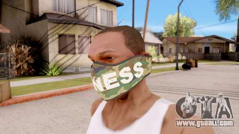 Mask Bigness for GTA San Andreas