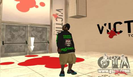 New Grove Street Pack for GTA San Andreas fifth screenshot