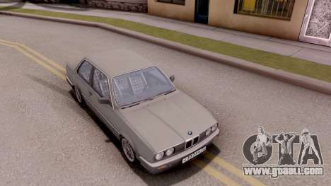 BMW E30 320i for GTA San Andreas right view