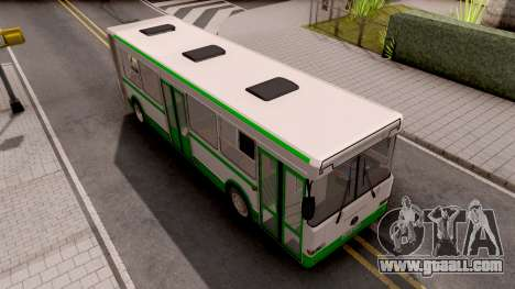 LiAZ-6212 for GTA San Andreas back left view