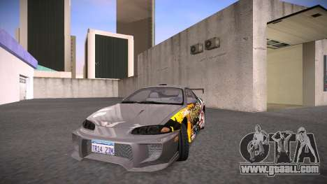 Mitsubishi Eclipse GSX for GTA San Andreas side view