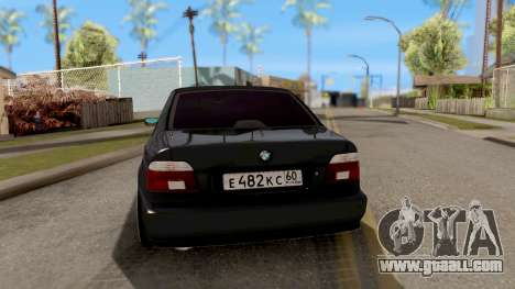 BMW M5 E39 GVR for GTA San Andreas back left view