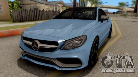 Mercedes-Benz C63S AMG Coupe for GTA San Andreas
