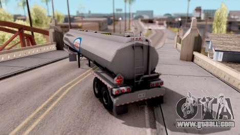 Tank Trailer from American Truck Simulator for GTA San Andreas left view