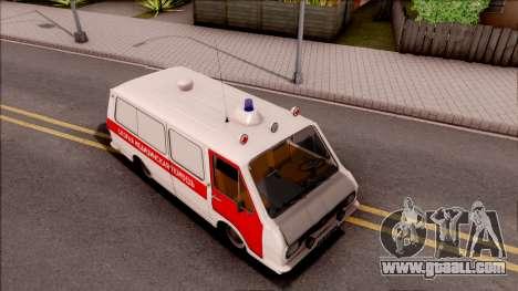 RAF 22031 Ambulance of Pripyat for GTA San Andreas right view