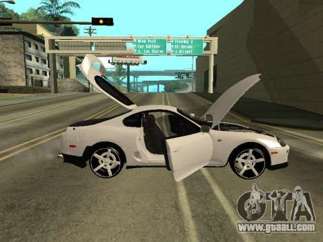 Toyota Supra Armenian for GTA San Andreas