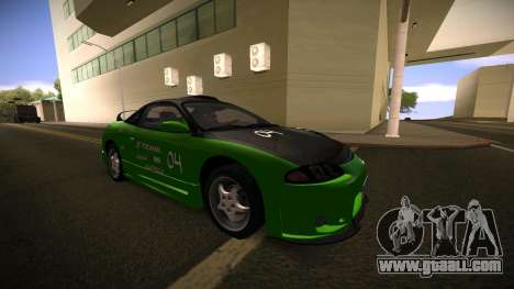 Mitsubishi Eclipse GSX for GTA San Andreas right view