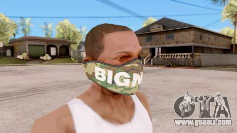 Mask Bigness for GTA San Andreas second screenshot