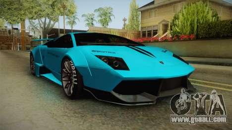 Lamborghini Murcielago LP670-4 SV Liberty Walk for GTA San Andreas