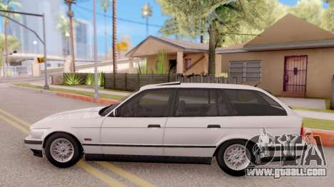 BMW 5-er E34 Touring Stock for GTA San Andreas left view