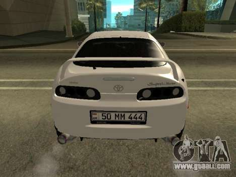 Toyota Supra Armenian for GTA San Andreas right view
