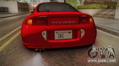 Mitsubishi Eclipse GSX 1995 Dirt IVF for GTA San Andreas bottom view