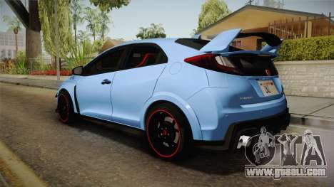 Honda Civic Type R 2015 for GTA San Andreas left view