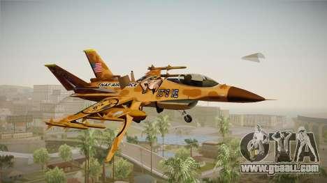 FNAF Air Force Hydra Freddy for GTA San Andreas