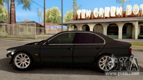 BMW M5 E39 GVR for GTA San Andreas left view