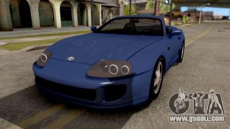 Toyota Supra Cabrio for GTA San Andreas