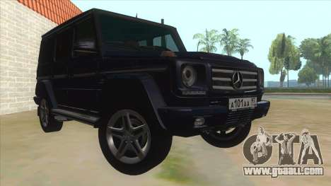 Mercedes-Benz G55 AMG for GTA San Andreas back view