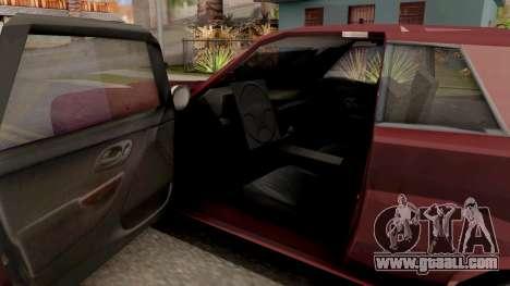 Driver PL Bonsai for GTA San Andreas inner view