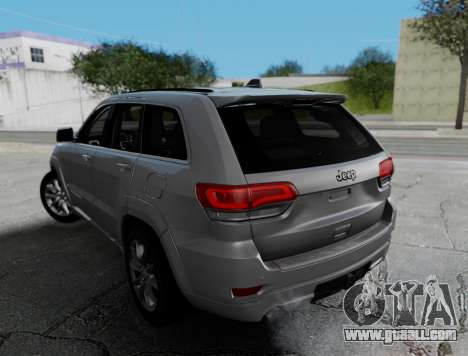 Jeep Grand Cherokee Limited for GTA San Andreas left view