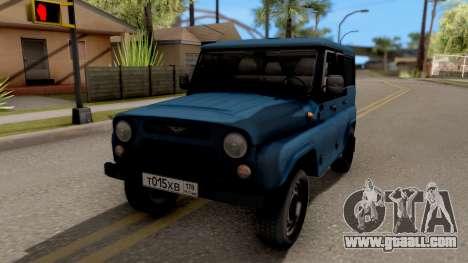 UAZ Hunter V8 Antigenic AcademeG for GTA San Andreas