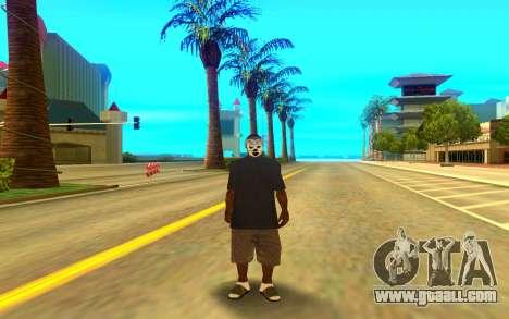 BALLAS GANG for GTA San Andreas second screenshot