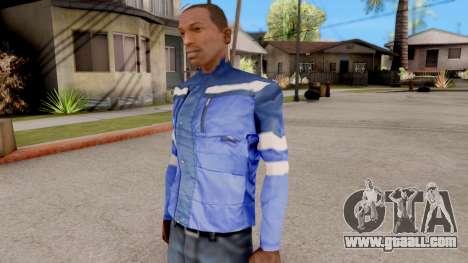 Blue jacket for GTA San Andreas