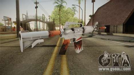CS:GO - M4A1-S Freeze No Silencer for GTA San Andreas third screenshot