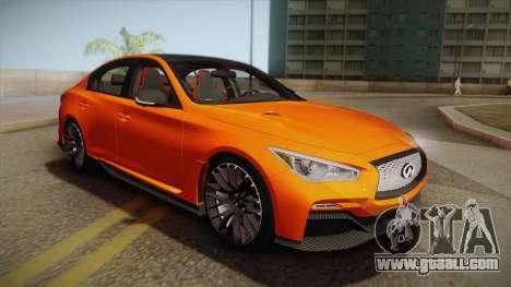 Infiniti Q50 Eau Rouge 2014 for GTA San Andreas