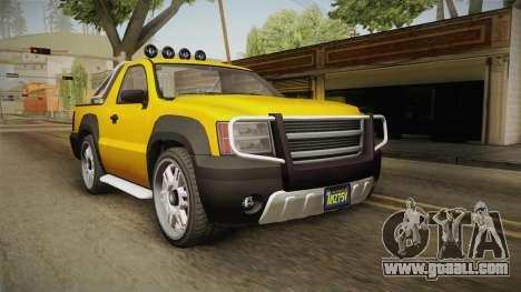 GTA 5 Declasse Granger Pick-Up for GTA San Andreas